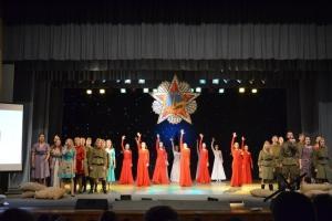 """Спектакль -концерт """"Эхо-войны"""""""